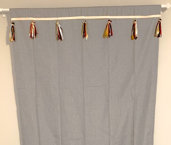 Curtains with Tassels