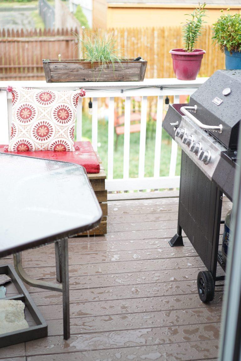 water resistant deck