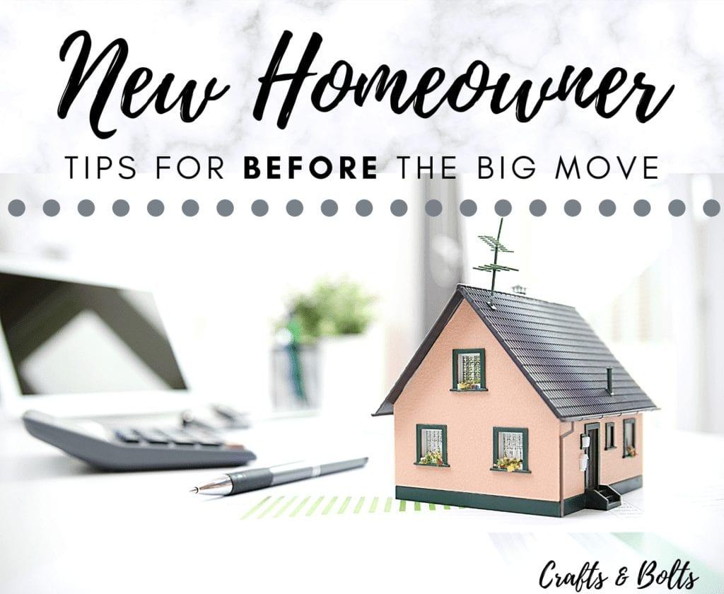 Tips for New Homeowner