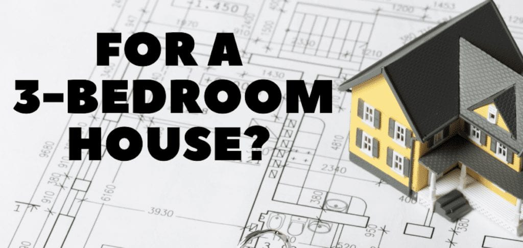 What Is The Average Electricity Bill For A 3 Bedroom House Crafts And Bolts