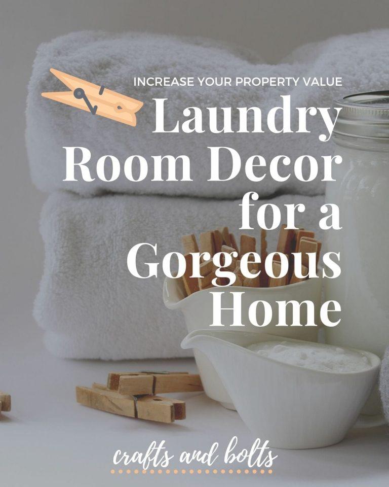 Laundry Room Decor Blog
