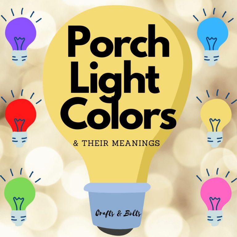Porch Light Colors
